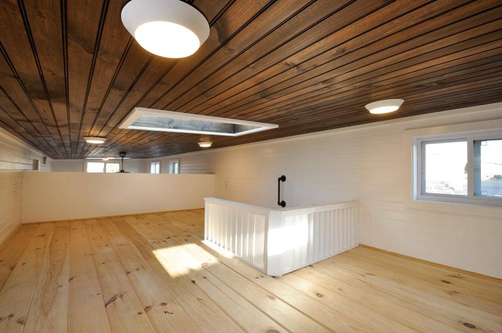 Loft w/ Skylight - Jefferson by Tiny House Building Company