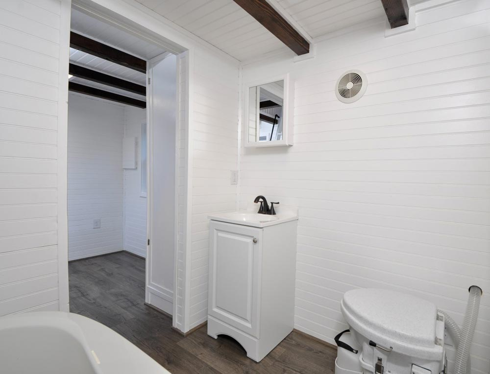 Bathroom - Jefferson by Tiny House Building Company