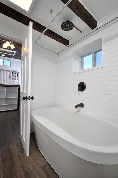 Soaking Tub - Jefferson by Tiny House Building Company