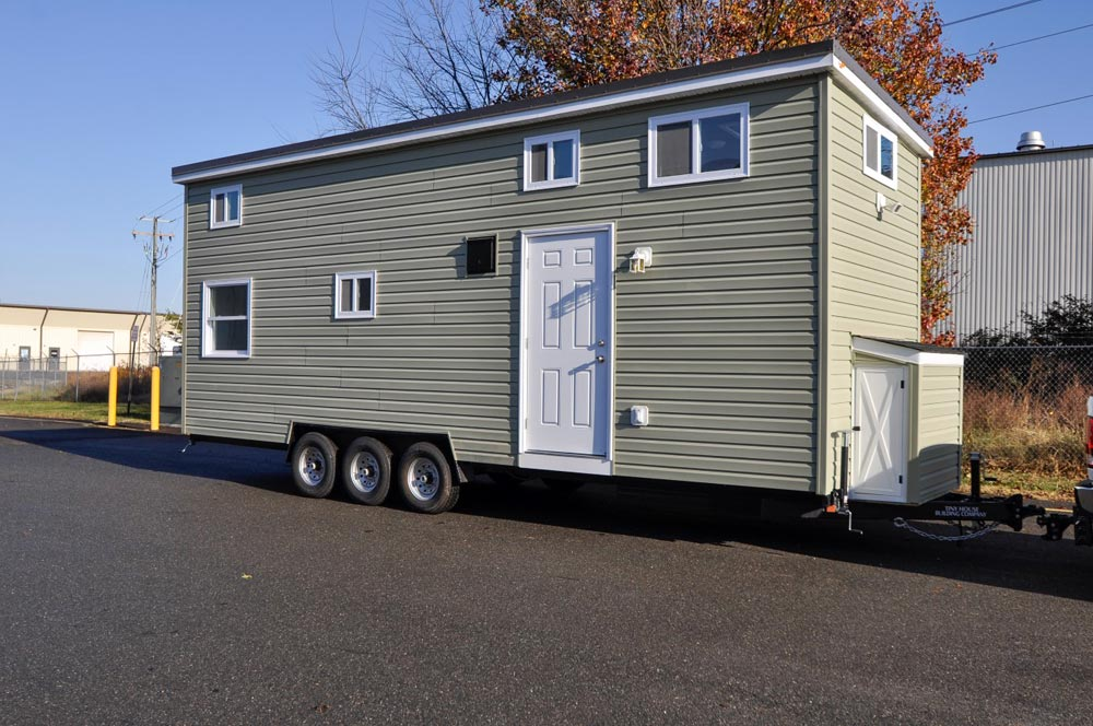 28' Tiny Home - Jefferson by Tiny House Building Company