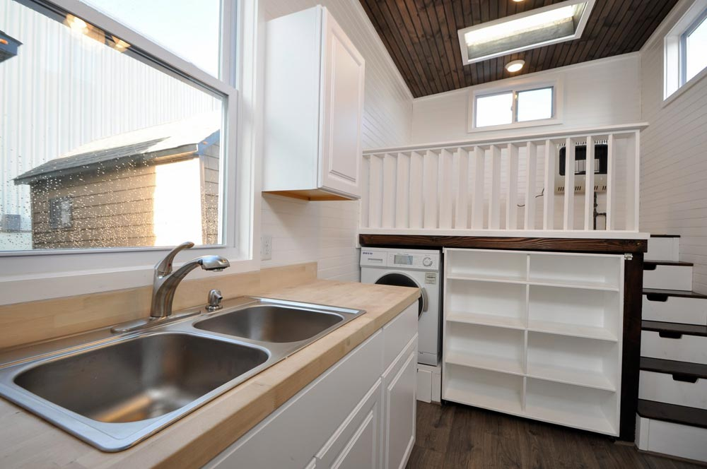 Kitchen Sink - Jefferson by Tiny House Building Company