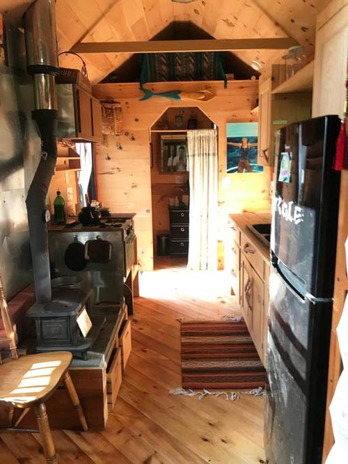 Kitchen - Mayu Tiny House