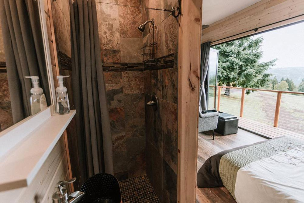 Shower - Mt Hood View Tiny House