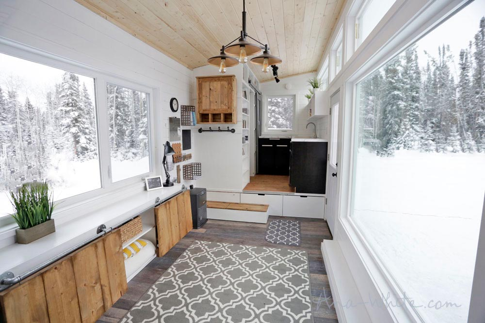 Ana White Rustic Modern Tiny House