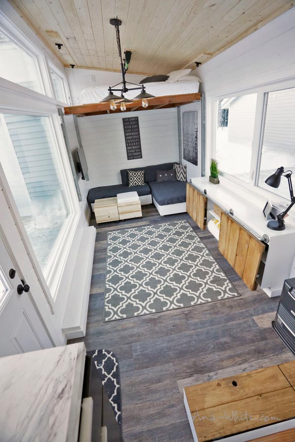 Open Concept - Rustic Modern by Ana White