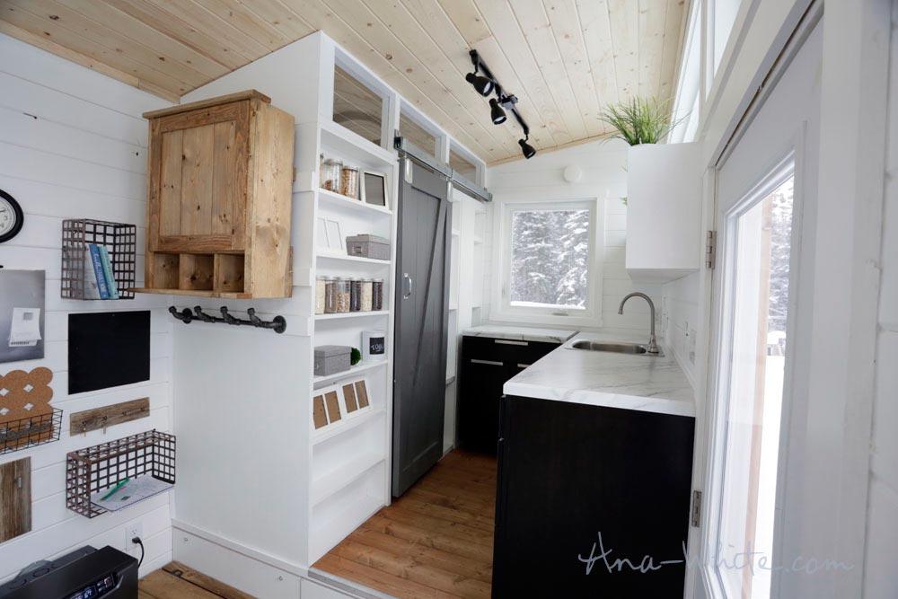 Raised Platform Kitchen - Rustic Modern by Ana White