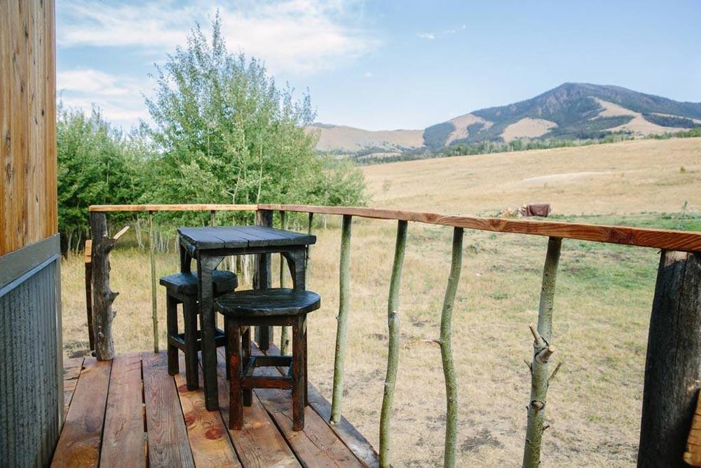 Porch - Stockman Tiny House