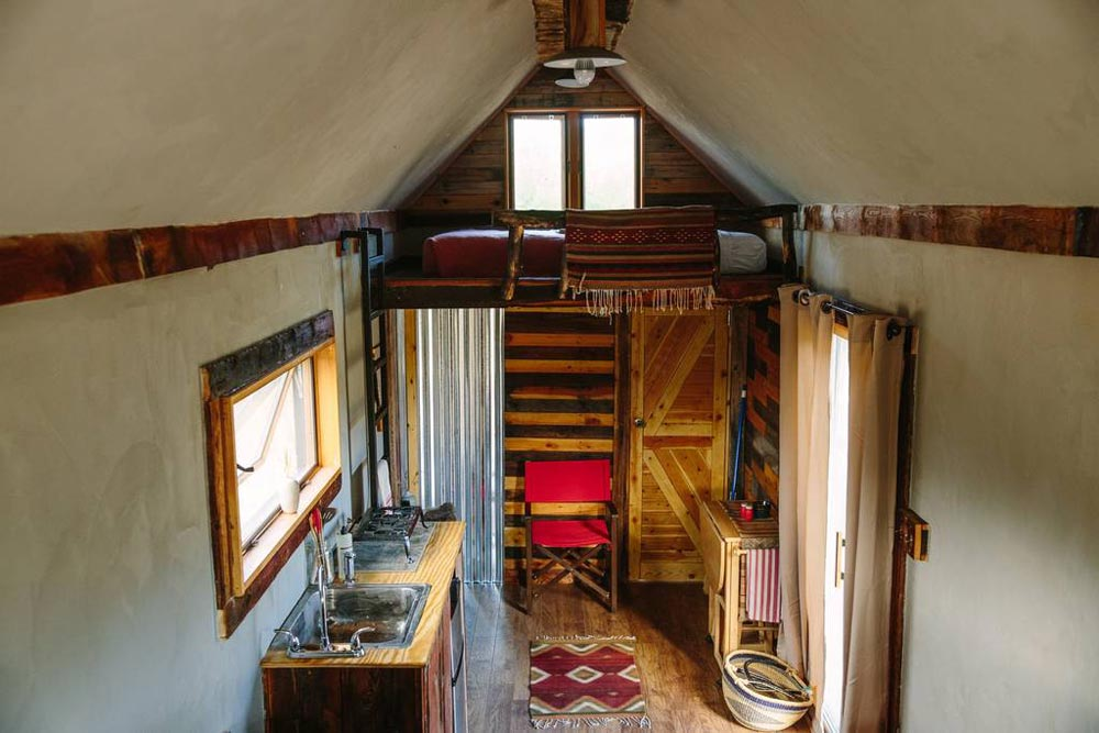 Interior - Stockman Tiny House