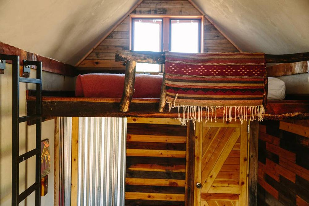 Reclaimed Wood - Stockman Tiny House