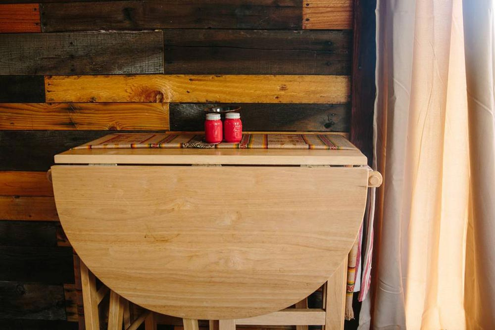 Fold Down Table - Stockman Tiny House