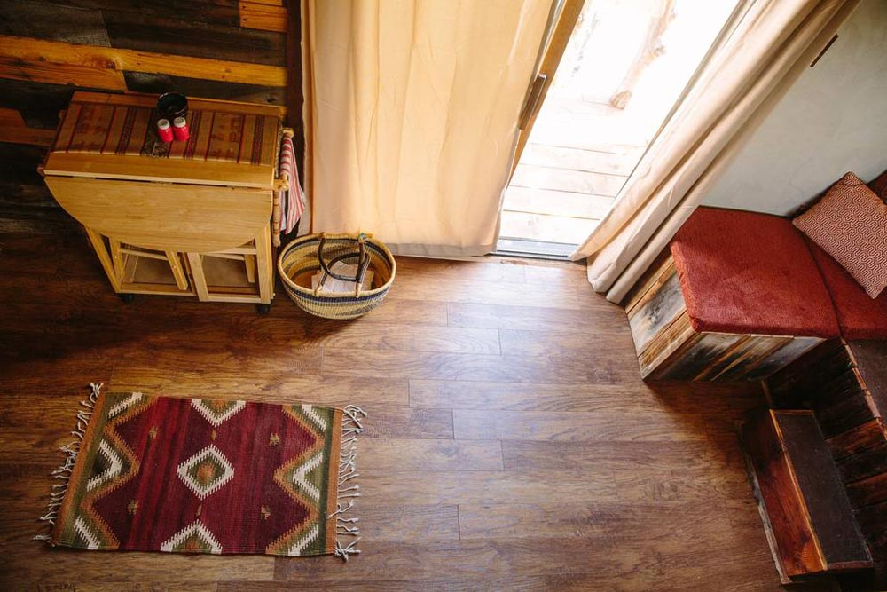 Flooring - Stockman Tiny House