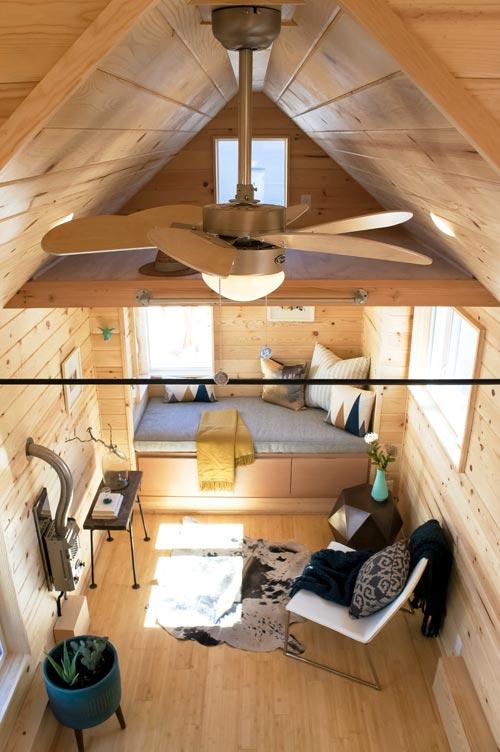 Tiny House Interior - Kootenay Urban by TruForm Tiny