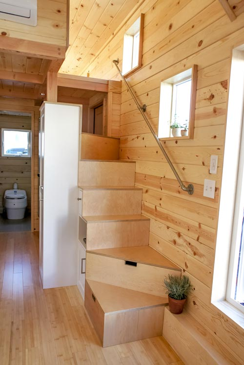 Stairs to Loft - Kootenay Urban by TruForm Tiny