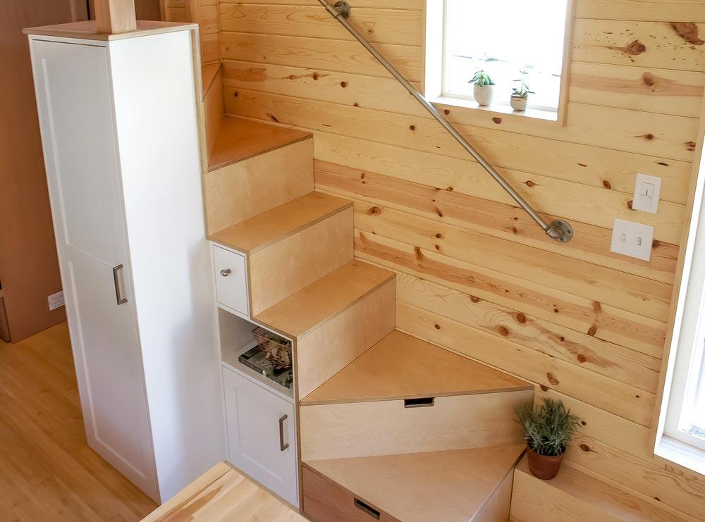 Storage Stairs - Kootenay Urban by TruForm Tiny