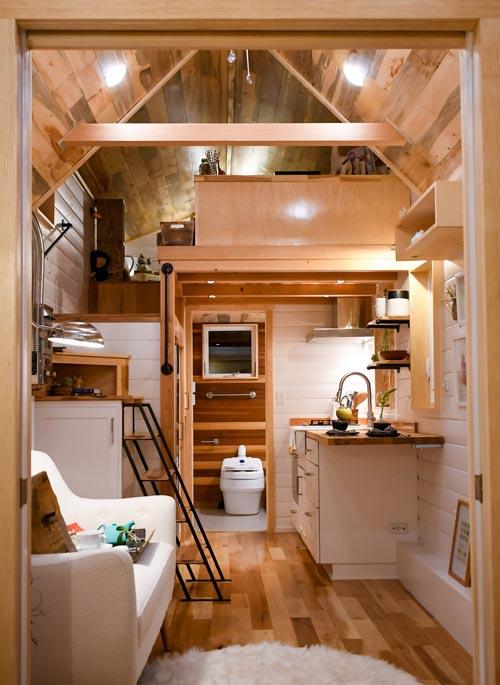 Tiny House Interior - Payette Urban by TruForm Tiny