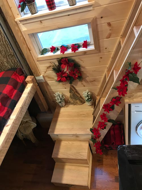 Stairs - Winter Haven by Incredible Tiny Homes