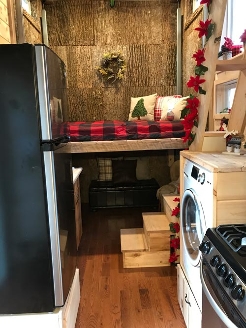 Galley Kitchen - Winter Haven by Incredible Tiny Homes