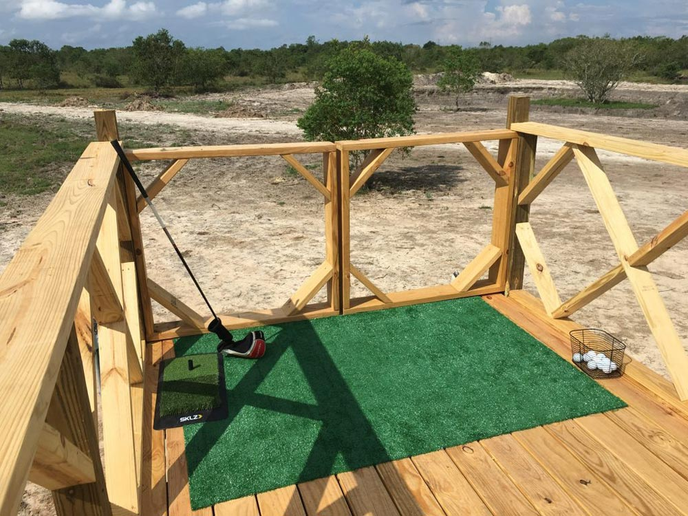 Driving Range - Workshop & Golf Tees by Backcountry Containers