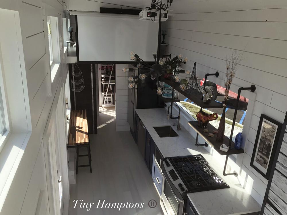Tiny House Interior - Bridgehampton by Tiny Hamptons