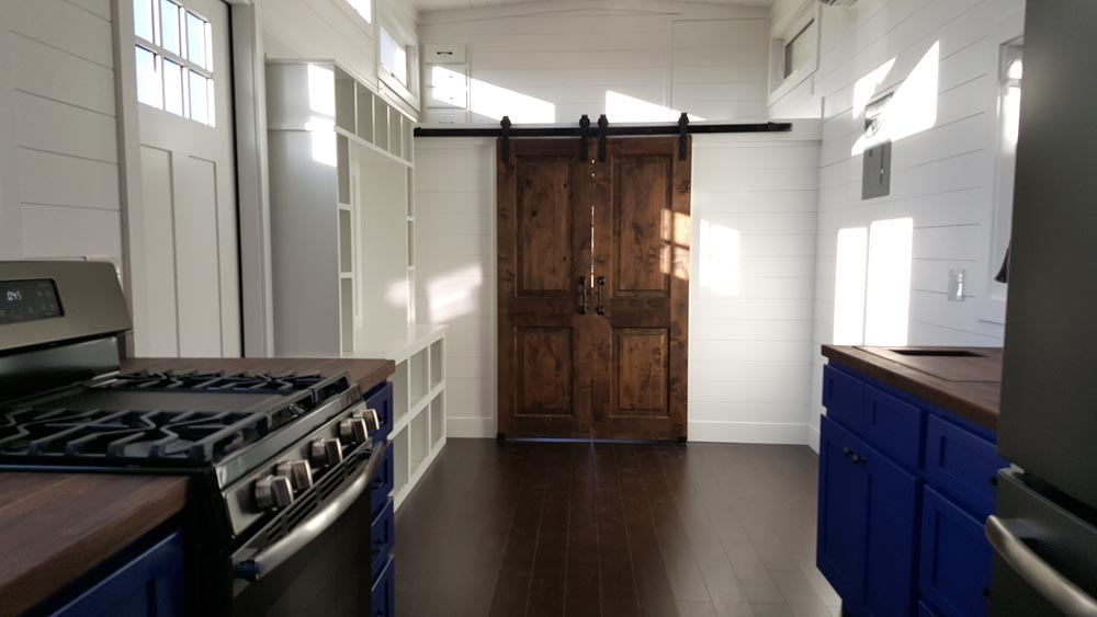 Barn Doors - Cape Cod by Alpine Tiny Homes