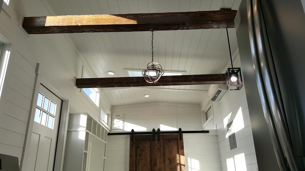 Exposed Beams - Cape Cod by Alpine Tiny Homes