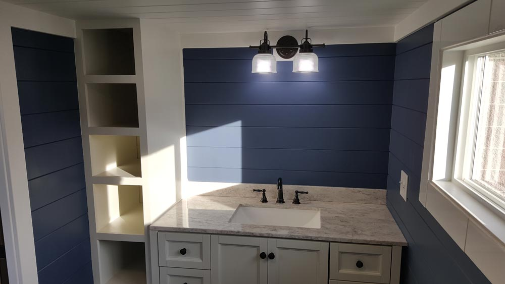 Bathroom - Cape Cod by Alpine Tiny Homes