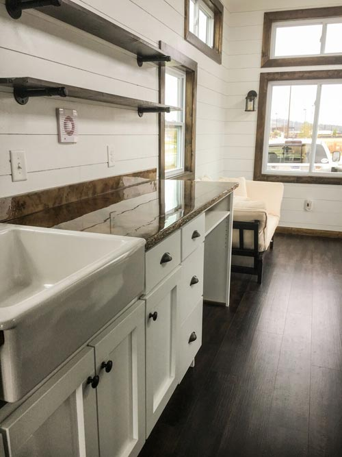 White Cabinetry - Fernweh by Harmony Tiny Homes