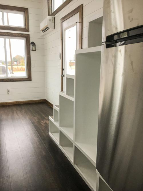 Storage Stairs - Fernweh by Harmony Tiny Homes