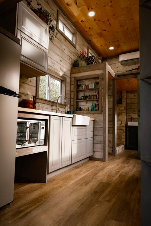 Kitchen - Custom 24' by Habeo Tiny Homes