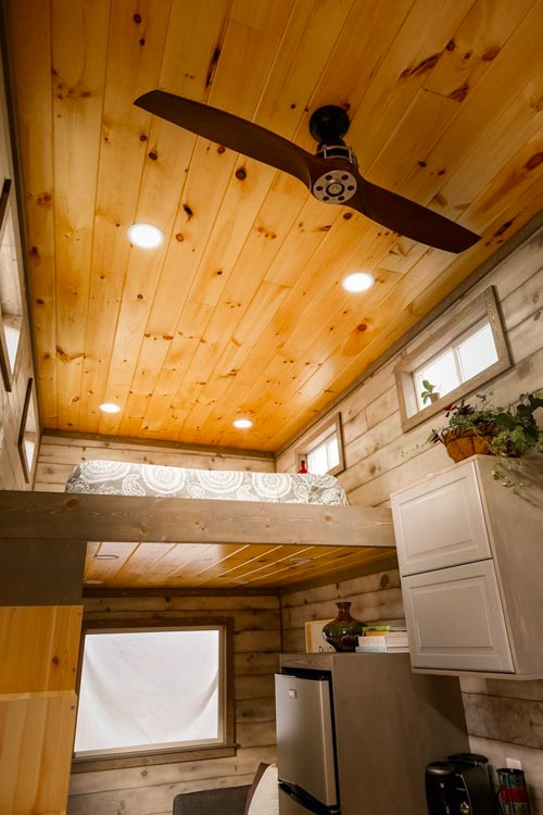 Ceiling Fan - Custom 24' by Habeo Tiny Homes