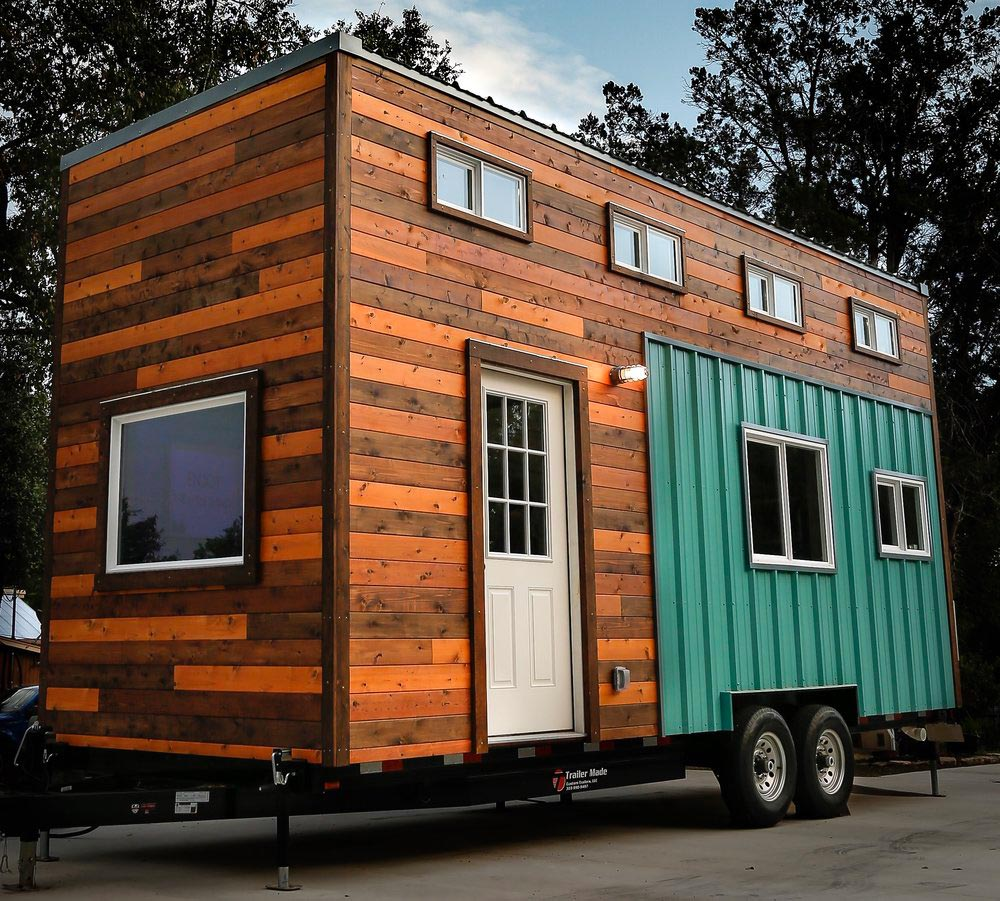 Cedar Siding - Custom 24' by Habeo Tiny Homes