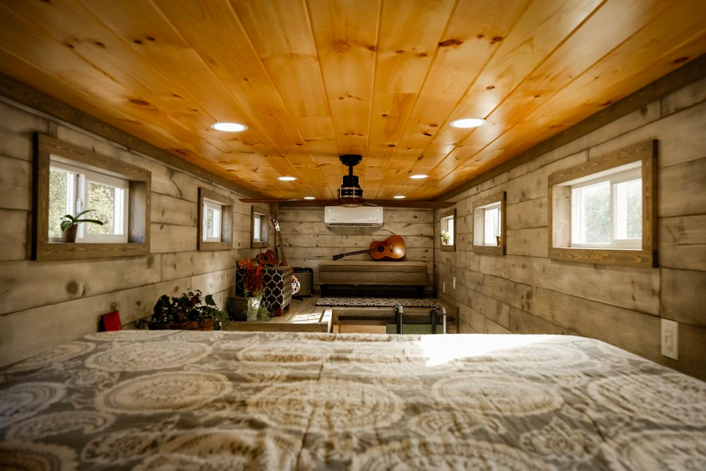 View From Loft - Custom 24' by Habeo Tiny Homes