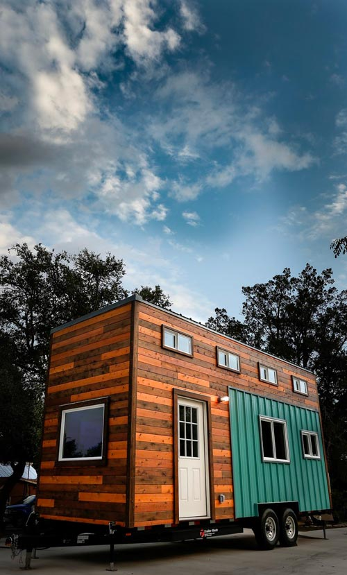Three Tone Exterior - Custom 24' by Habeo Tiny Homes