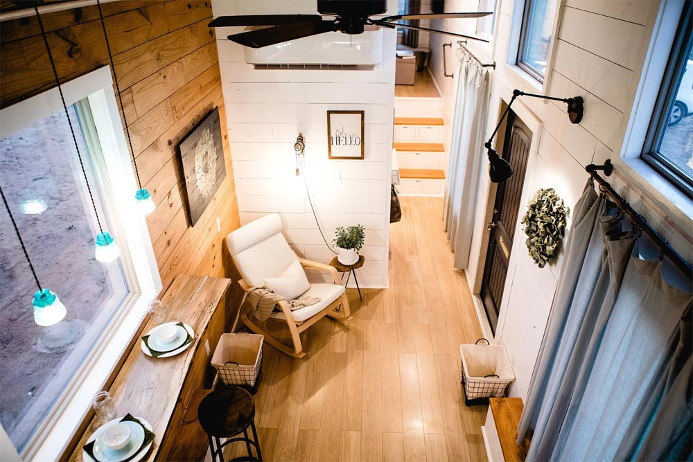 Tiny House Interior - Molly by Tiny is Now