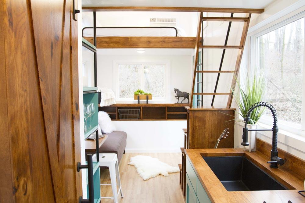 Kitchen & Living Room - Nash by Modern Tiny Living