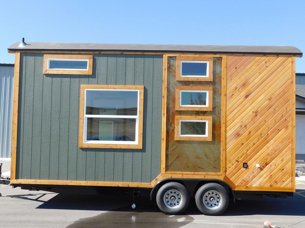 Rusted Metal Accent - Pioneer by Tiny Idahomes
