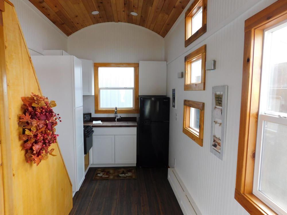 Tiny House Interior - Pioneer by Tiny Idahomes