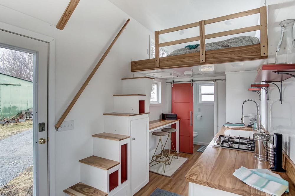 Storage Stairs - Poppy by Modern Tiny Living