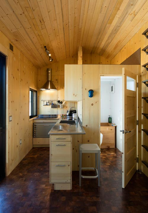 Kitchen & Bathroom - SaltBox by Extraordinary Structures