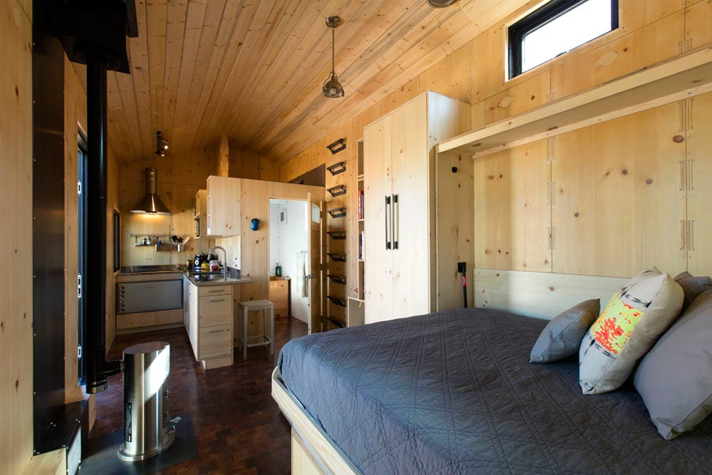 Tiny House Interior - SaltBox by Extraordinary Structures