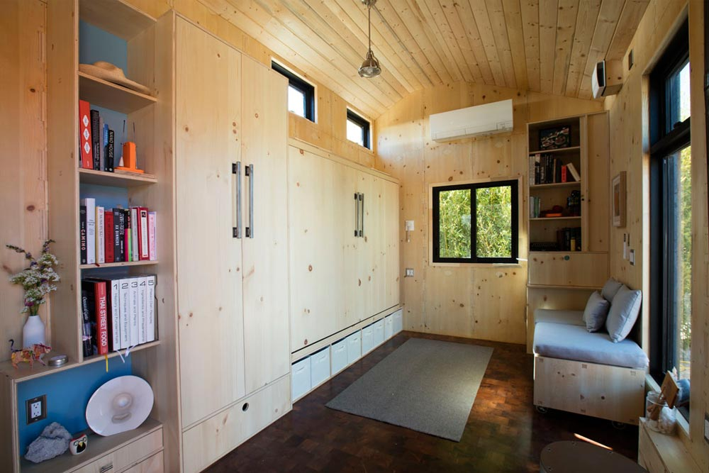 Closet & Queen Murphy Bed - SaltBox by Extraordinary Structures