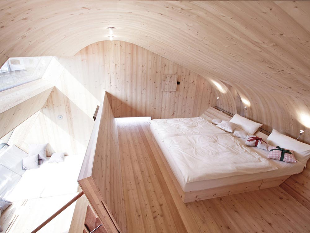 Bedroom - Ufogel Tiny House