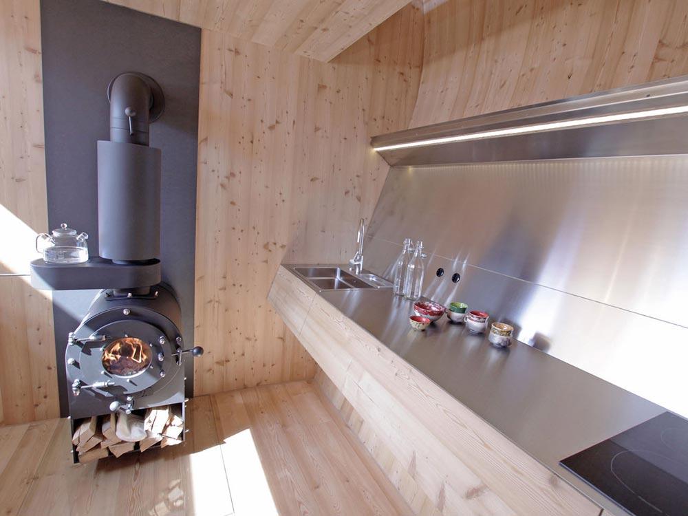Kitchen - Ufogel Tiny House