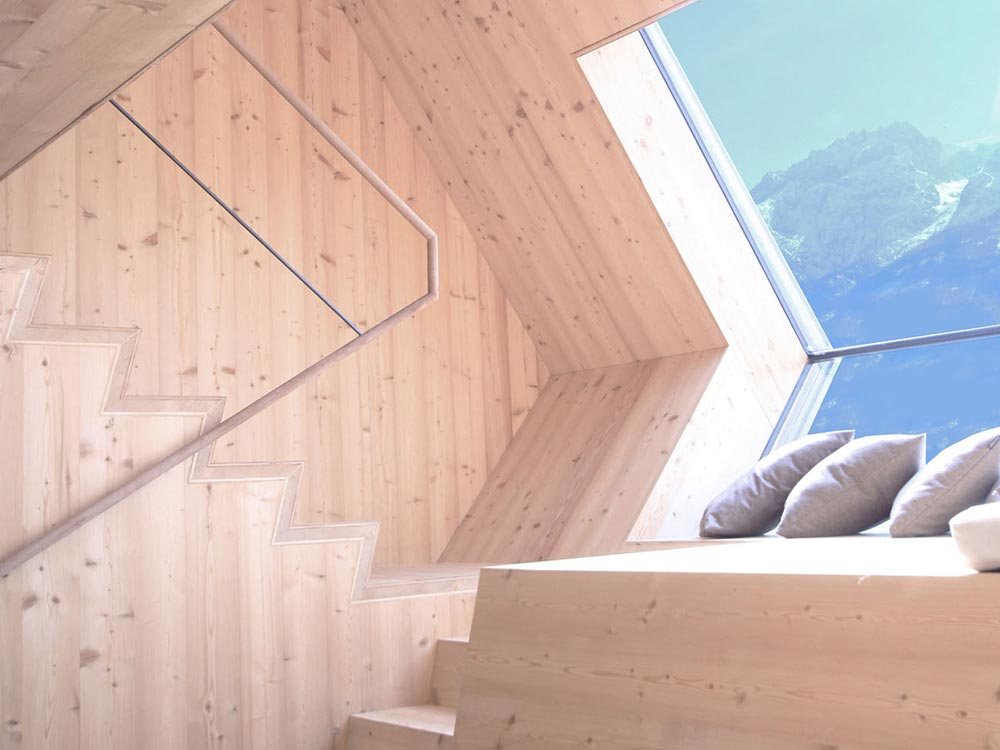 Stairs - Ufogel Tiny House