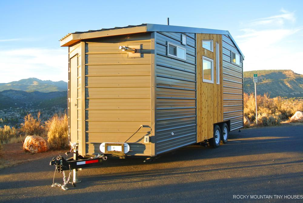 Industrial Style - Wanderlust by Rocky Mountain Tiny Houses