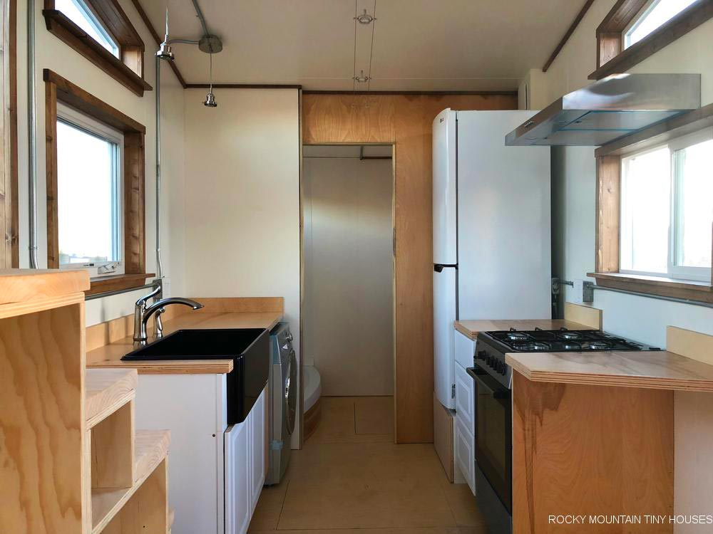 Kitchen - Wanderlust by Rocky Mountain Tiny Houses