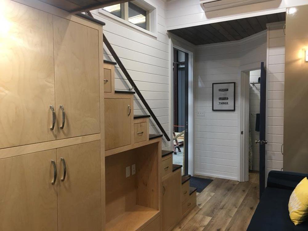 Storage Stairs - Zaunbrecher by Tee Tiny Houses