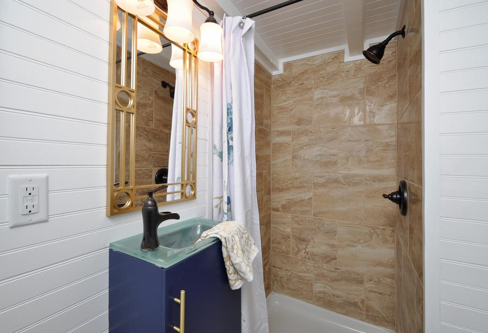 Shower - Ascot by Tiny House Building Company