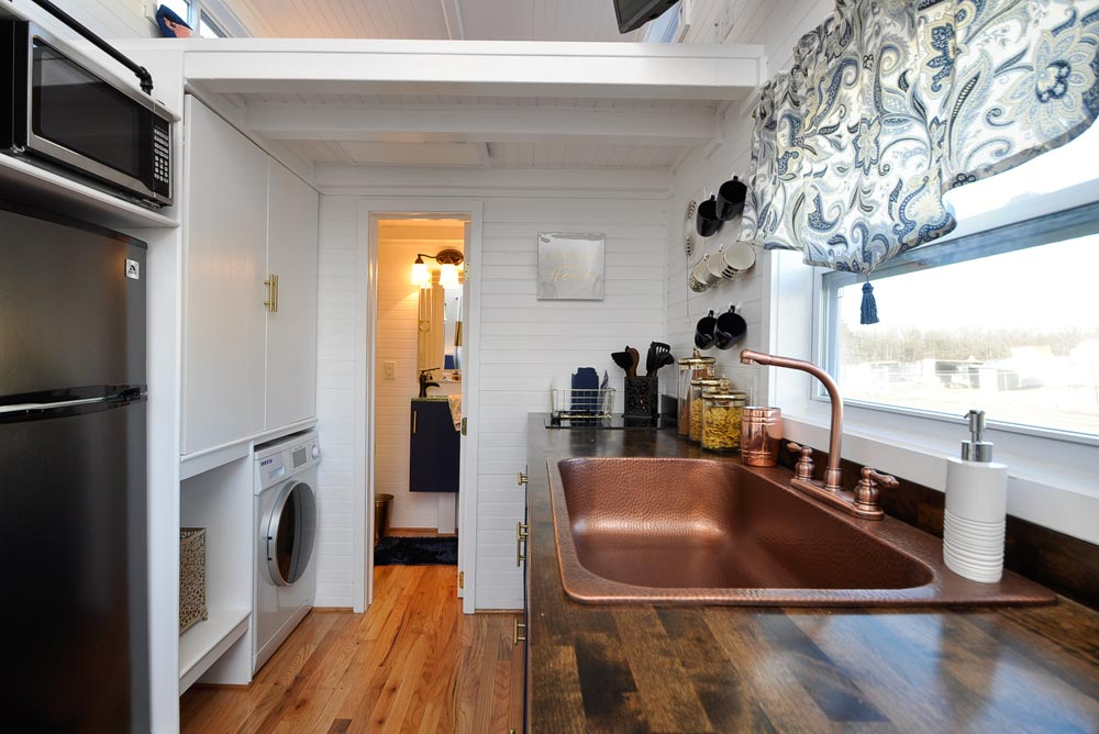 Copper Sink - Ascot by Tiny House Building Company