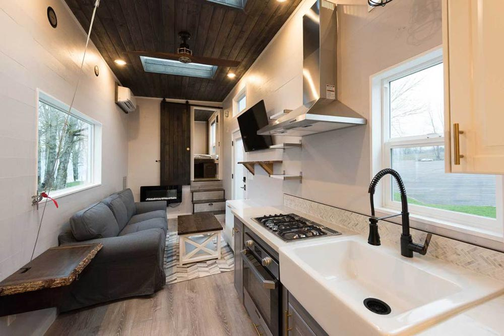 Kitchen & Living Room - Cayman by Tiny Innovations